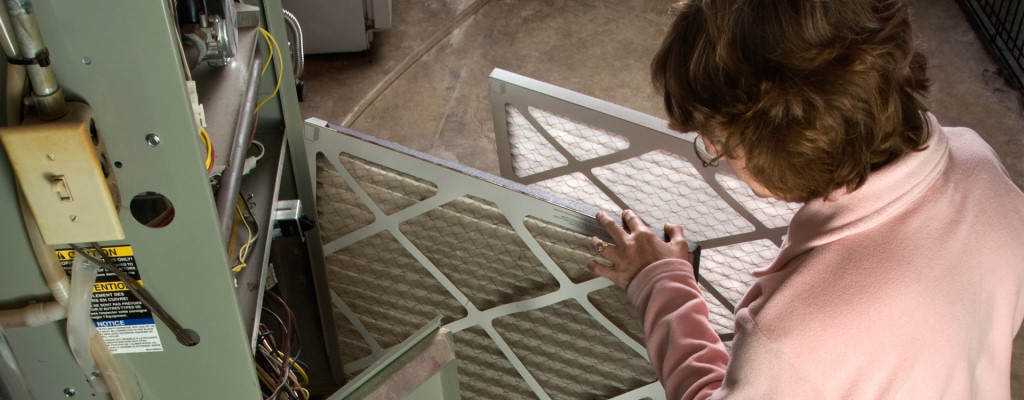 Replacing your furnace's air filter is a very easy - and very cost-effective - way to ensure your system keeps you comfortable!