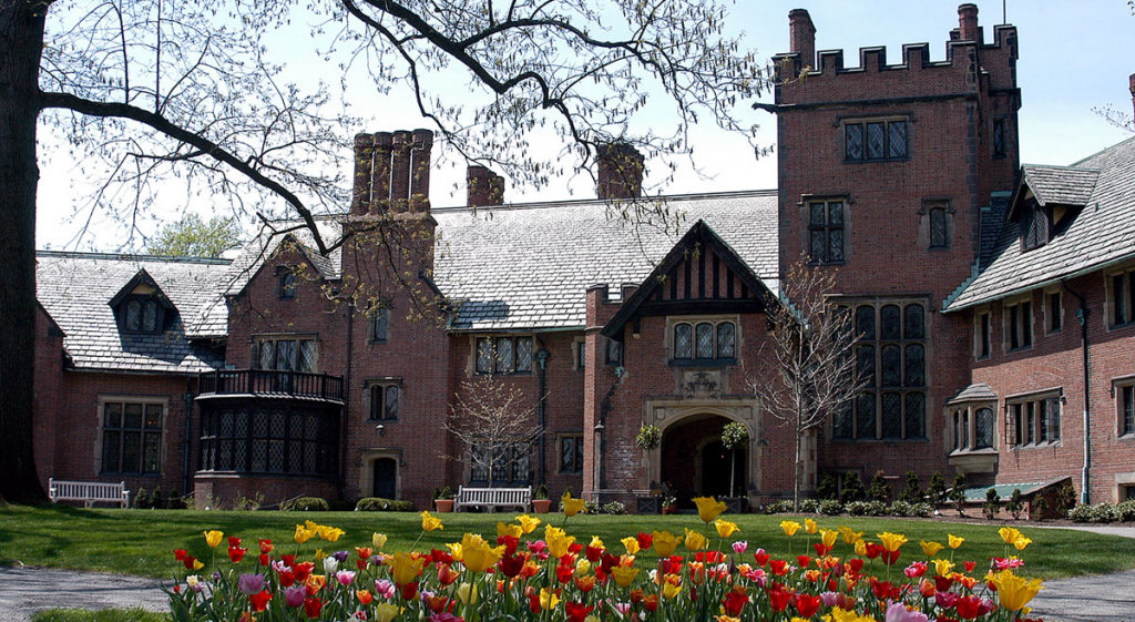 Stan Hywet Hall in Akron Ohio | photo by Ohio Office of Redevelopment